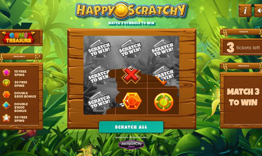 Happy Scratch – Gems Treasure