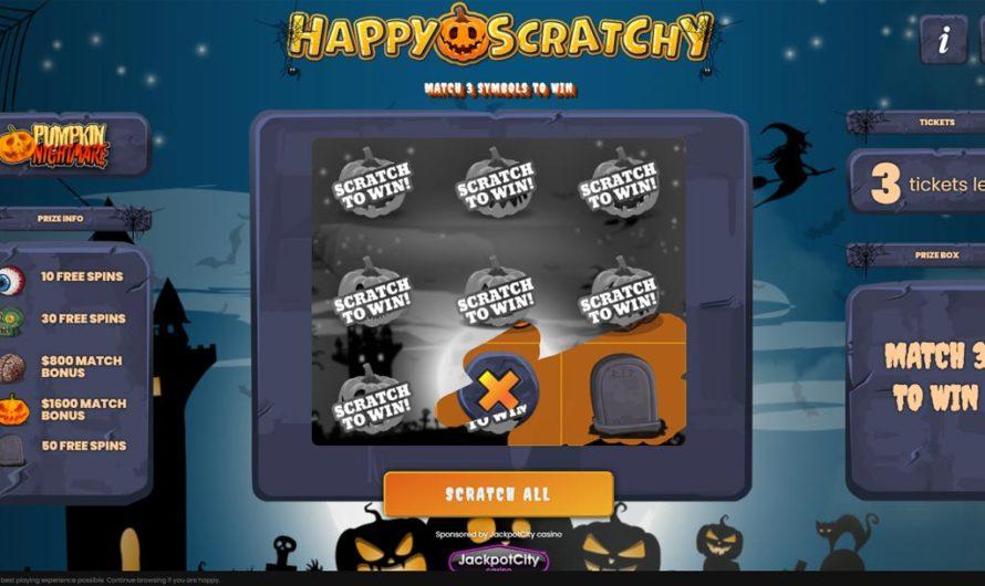 Happy Scratchy – Pumpkin Nightmare