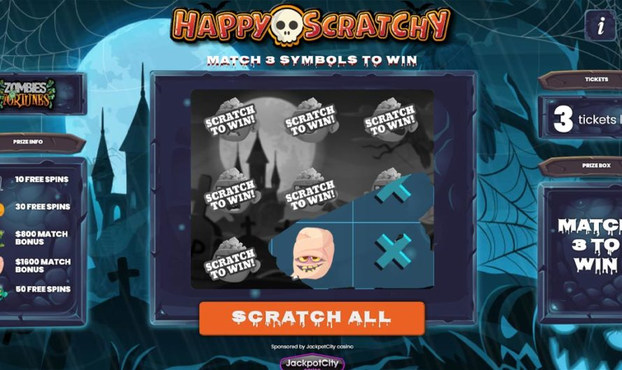 Happy Scratchy – Zombie Fortunes